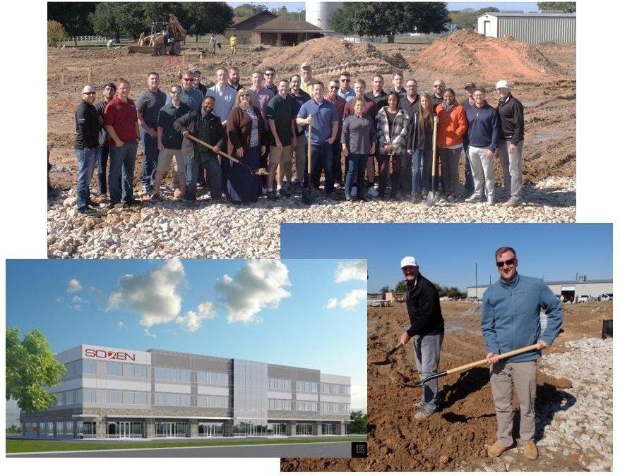 Construction underway for new Soren office building