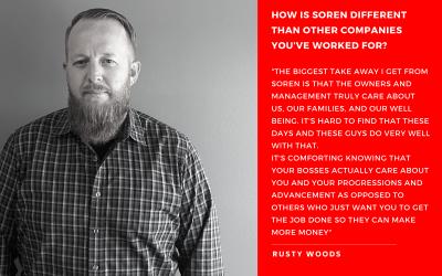 May Employee Spotlight-Rusty Woods