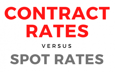 Contract Rates vs. Spot Rates