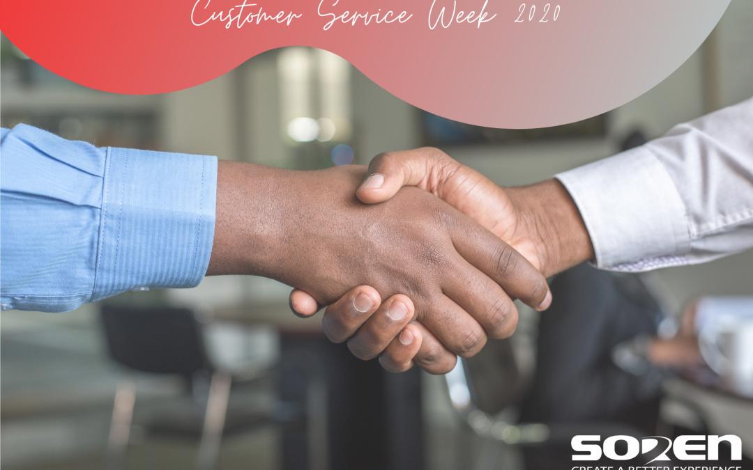 Customer Service Week 2020