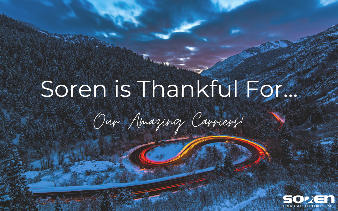 Soren's Month of Thanks – Thank You Carriers!