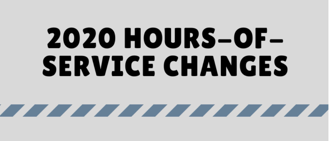 2020 Hours-Of-Service Changes