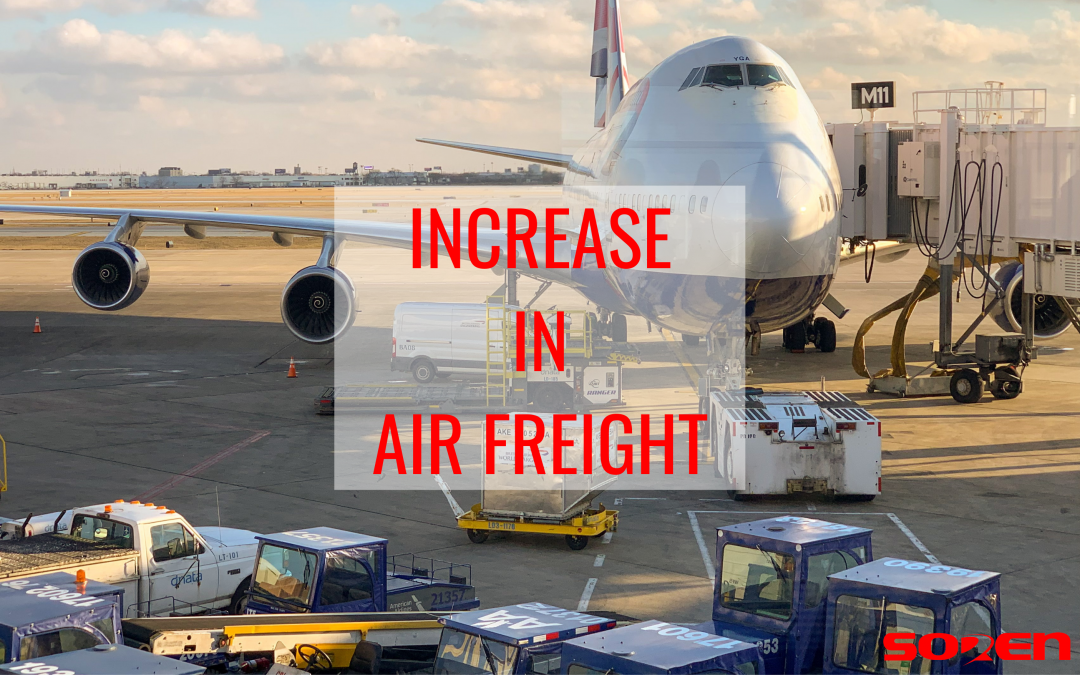 Congestion in California Ports Increases Air Freight