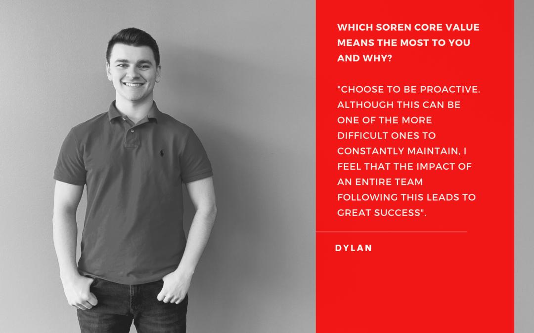 March Employee Spotlight – Dylan