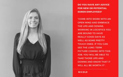 April Employee Spotlight – Nicole