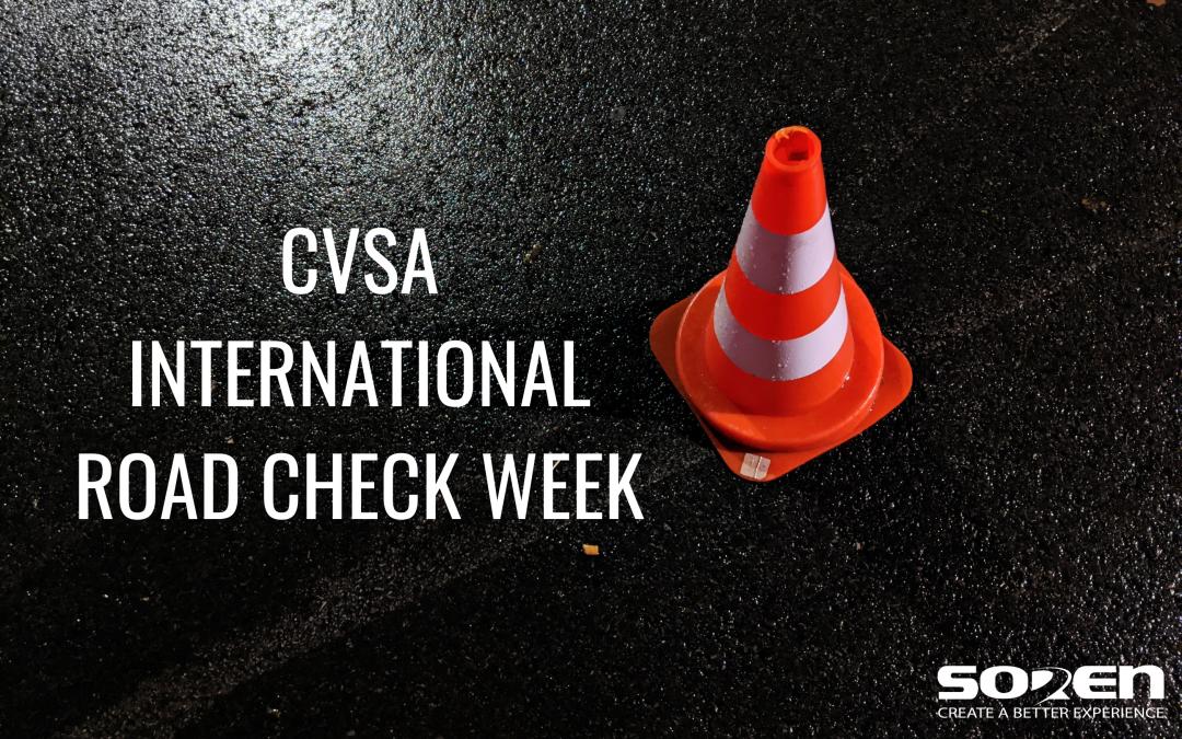 CVSA International Road Check Week 2021