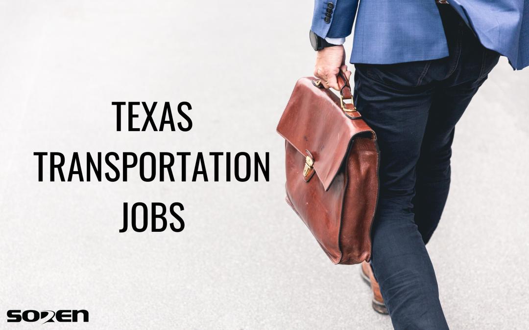 Texas Transportation Jobs