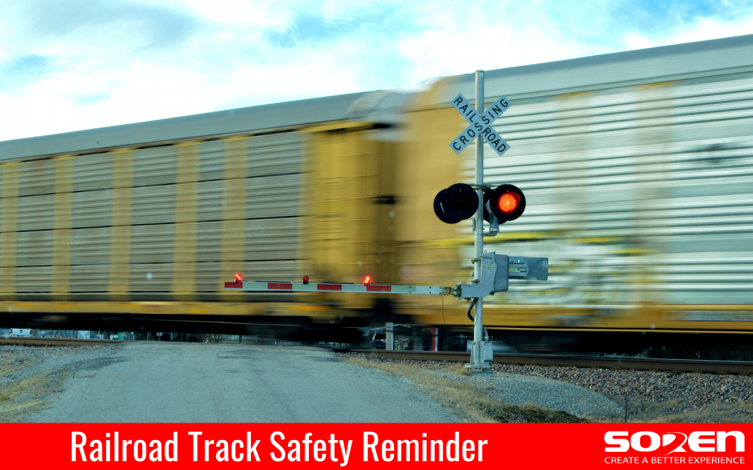 Railroad Track Safety Reminder
