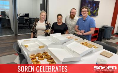 Soren Celebrates!