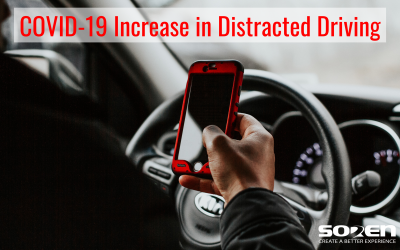 COVID-19 Increase in Distracted Driving