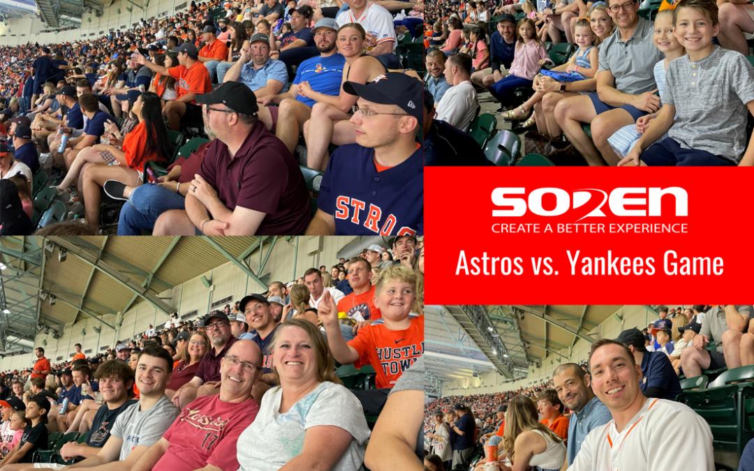 Soren Astros Game