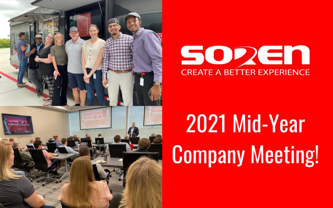 Soren 2021 Mid-Year Company Meeting