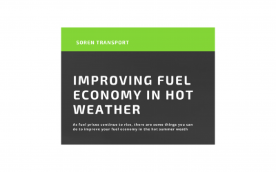 Fuel Economy in Hot Weather Infographic
