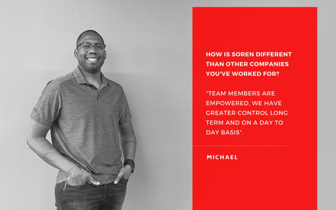 July Employee Spotlight – Michael