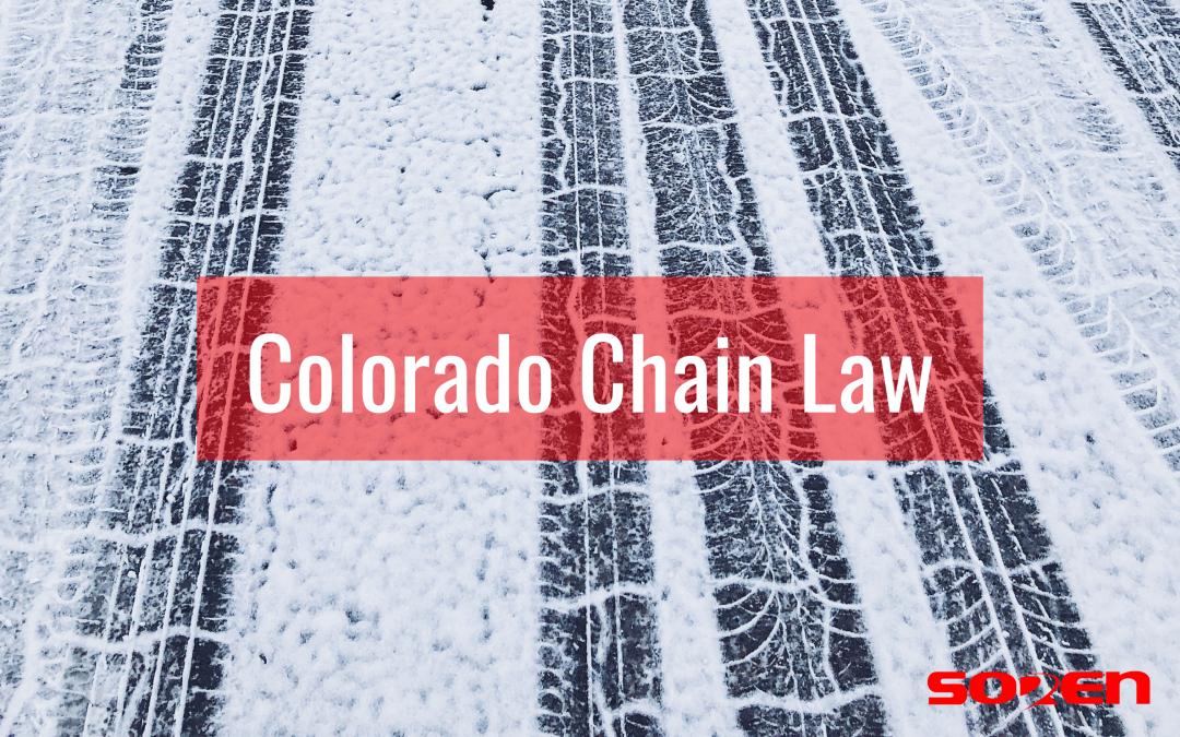 Colorado Chain Law