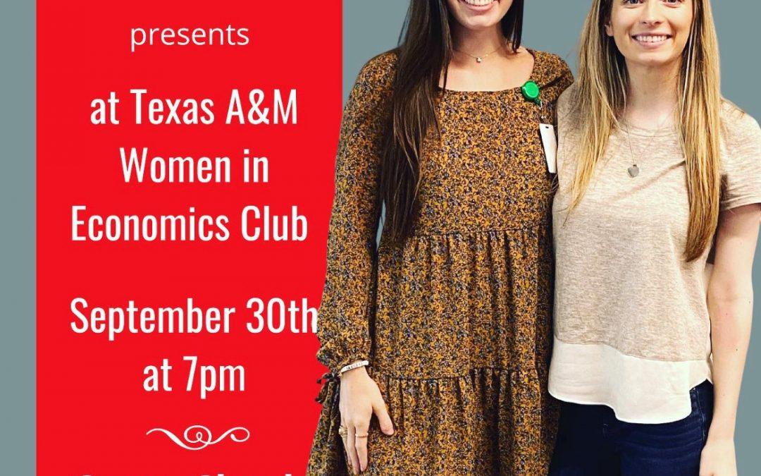 Texas A&M Women in Economics