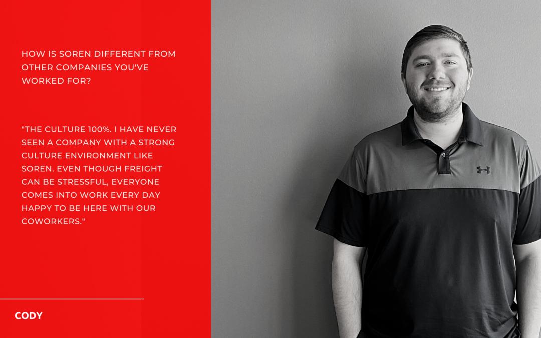 September Employee Spotlight – Cody